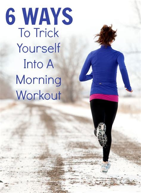 6 Genius Ways to Motivate Your Morning Workout | Workout ...