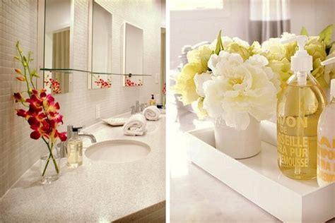 6 ideas para decorar el baño en el casamiento