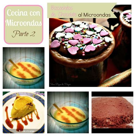 6 recetas dulces y fáciles en microondas   Cocina
