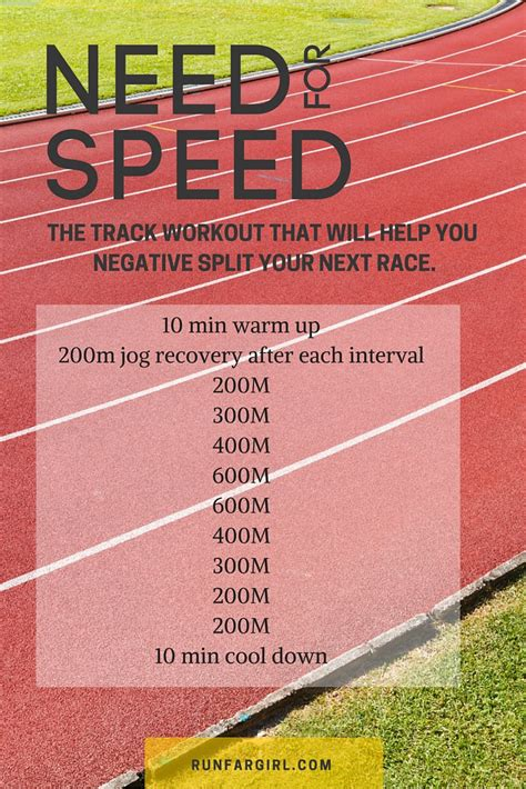 6 Speed Workouts for Runners
