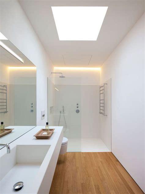 60 Baños blancos modernos: Grandes, pequeños y en madera ...