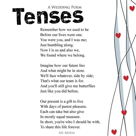 60 best Wedding   Poems images on Pinterest   Words ...