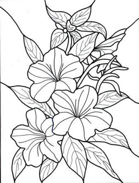 60 Imágenes de flores para Colorear dibujos   Colorear ...