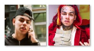 6IX9INE Before And After   Tattoos, Rainbow Hair  Pictures ...