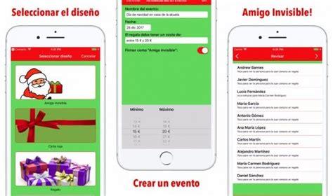 7 apps para organizar el Amigo Invisible