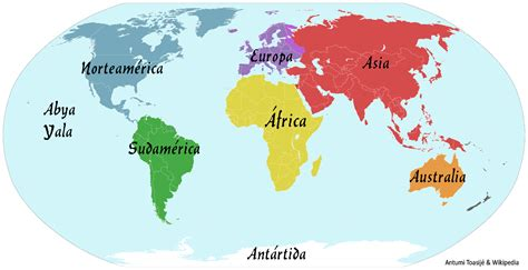 7 Continentes Del Mundo | www.pixshark.com - Images ...