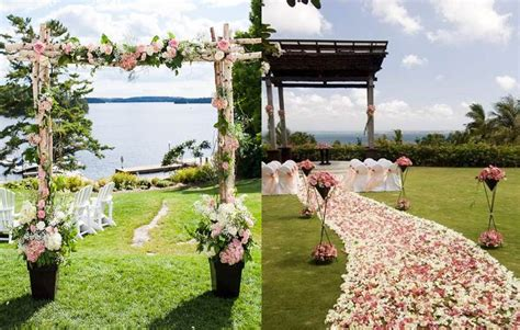 7 elementos de decoración básicos para una boda en jardín