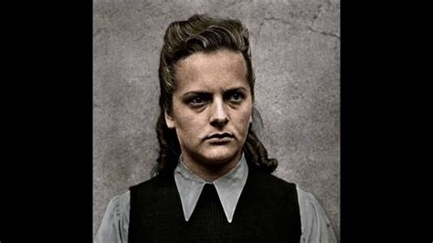 7 facts about Notorious Nazi Prison Guard Irma Grese   YouTube