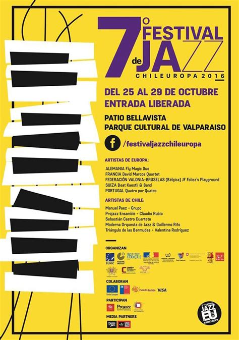 7º Festival de Jazz Chileuropa 2016   Centro de Língua ...