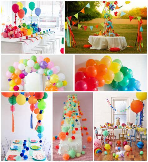 7 ideas con globos y pompones para organizar una fiesta ...