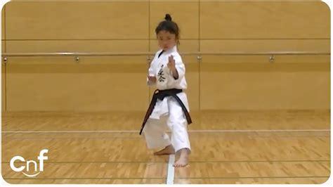 7 Year Old Girl Karate Master | Incredible Kankudai Demo ...