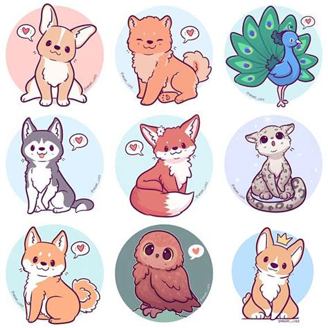 75 best Chibi animals images on Pinterest | Drawing ideas ...