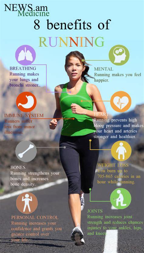 8 benefits of running (infographic) | NEWS.am Medicine ...