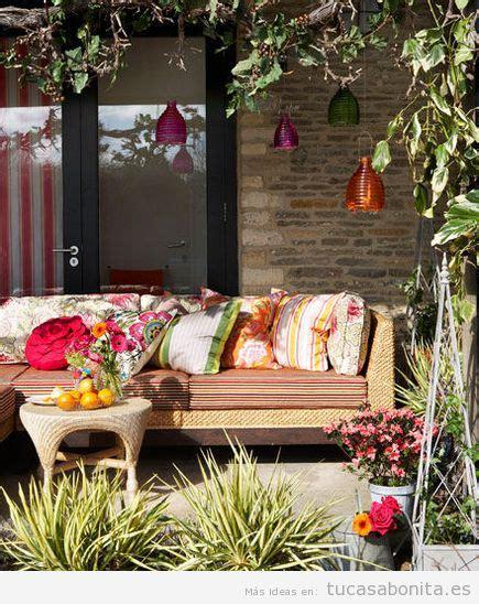 8 ideas para decorar terrazas, jardines o patios - Tu casa ...