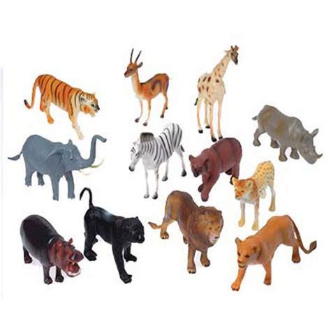 8 Inch Wild Animal Toys - Ziggos.com