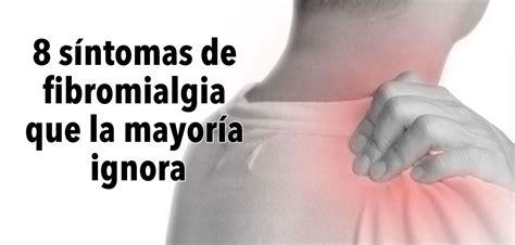 8 síntomas de fibromialgia que la mayoría de las personas ...