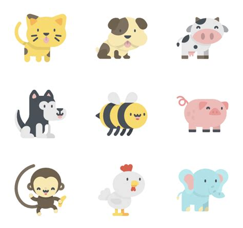 80 zoo icon packs - Vector icon packs - SVG, PSD, PNG, EPS ...