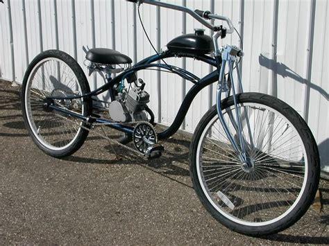 80cc 2 cycle BLACK Bike Motor Kit for bicycle gas powered ...