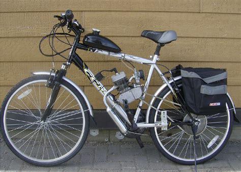 80cc 2 Cycle Motorcycle Muffler Motorized Bike Engine ...
