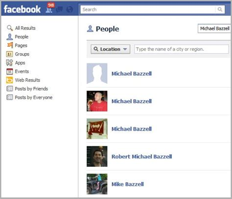 9 Best Images of Facebook Search People By Name - Facebook ...