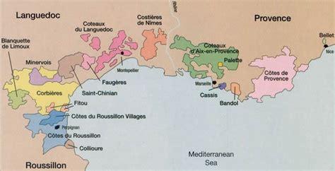 9 mapas de vinos de Francia - vinopack