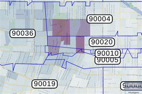 90005 Zip Code Map | Zip Code Map
