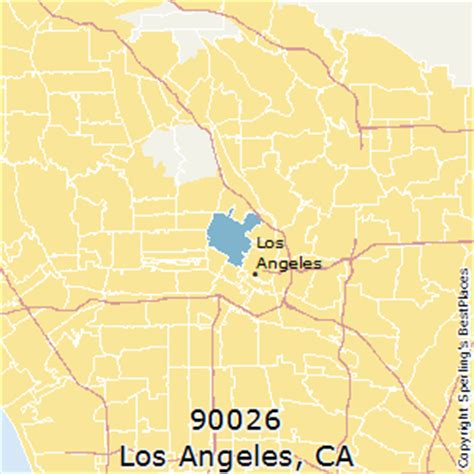 90026 Zip Code Map | Zip Code Map