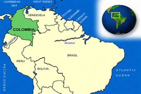91+ [ Ubicasion De Colombia En El Mapa De Suramerica ...