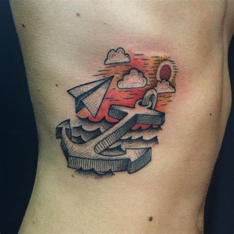 95+ Best Anchor Tattoo Designs & Meanings - Love of The ...