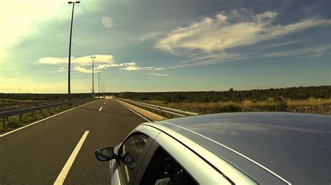 #9858, Auto en una carretera [Efecto], Carreteras y ...