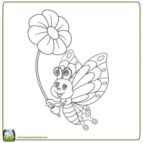 Dibujos De Mariposas Con Flores Cantineoqueteveo