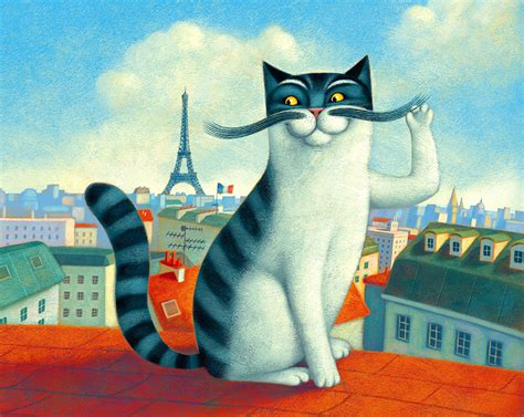 a cat in Paris by Aguaplano on DeviantArt