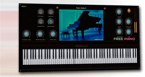 ¡A descargar piano virtual gratis! RDG Audio Free Piano ...
