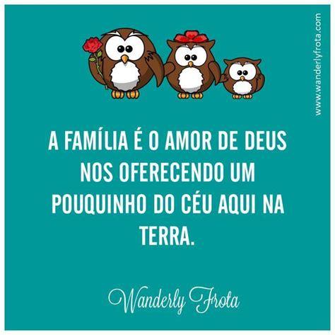 A família é o amor   Frase para Facebook
