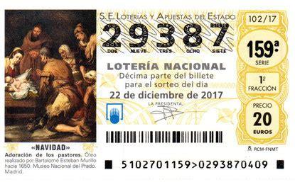 A la venta la Loteria de Navidad 2017 - Hermandad ...