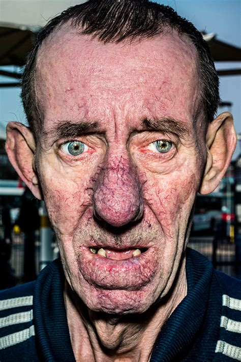 A latter-day freak show? Bruce Gilden's extreme portraits ...