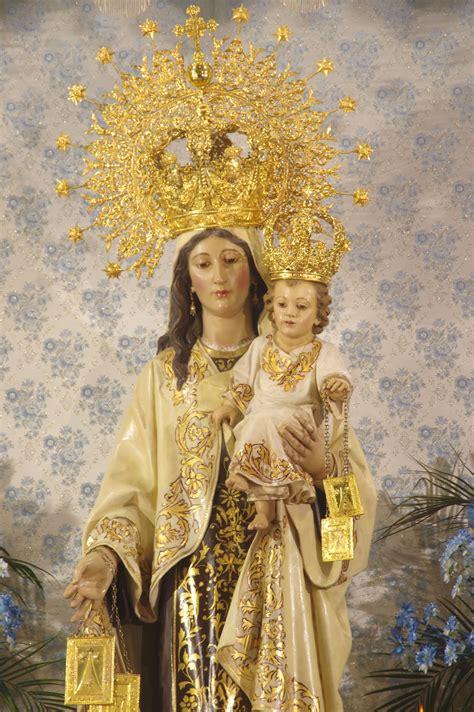 A los pies de la Virgen del Carmen y Ánimas | Pasión en Jaén