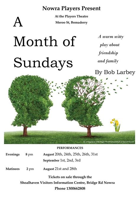 A Month Of Sundays – Nowra Players