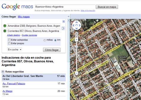 A moverte por Buenos Aires con Google Maps   Aplicaciones ...