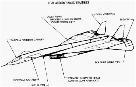 A.N.S.U.   Il super bombardiere XB 70 Valkyrie.