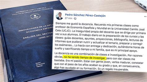 A Pedro Sánchez le traiciona el subconsciente y admite que ...