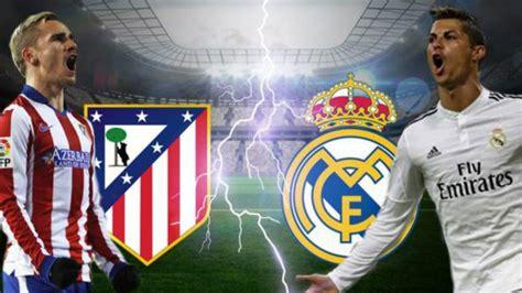 ¿A qué hora y dónde televisan el Atlético vs Real Madrid?