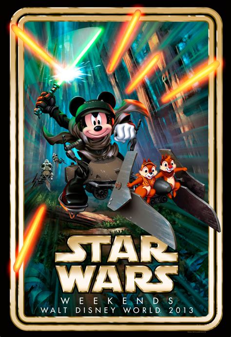 A Villain and Hero Highlight 'Star Wars' Weekends 2013 in ...