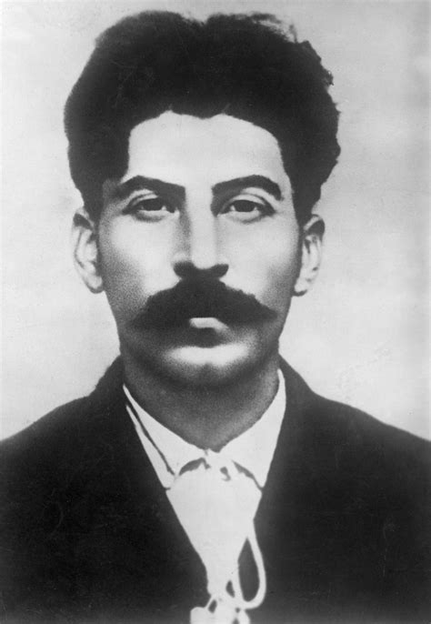 A young Joseph Stalin before the USSR