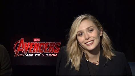 Aaron Taylor Johnson & Elizabeth Olsen   Avengers: Age of ...