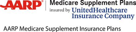 AARP Medicare Supplement Plans insured by United Healthcare