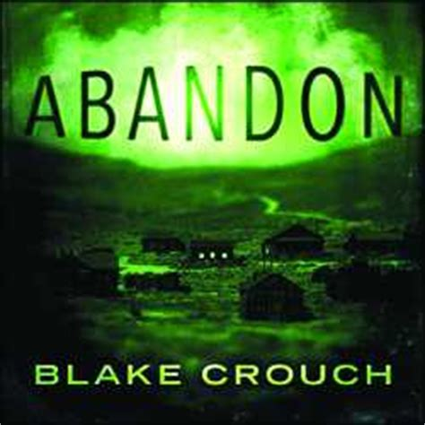 Abandon Audio Book CDs Unabridged