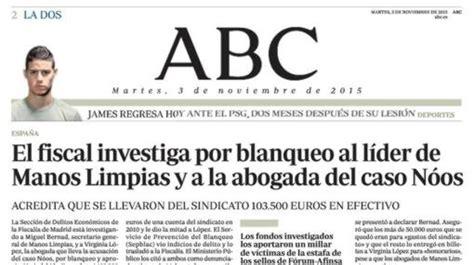 ABC, tras la huella de Manos Limpias