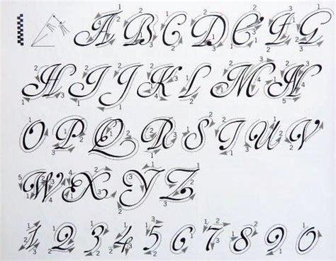 Abecedario con letra cursiva e imprenta mayuscula y ...