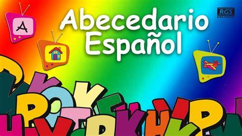 Abecedario en español para niños. Video educativo para ...